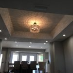 recessed lighting installation