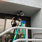 installing lights