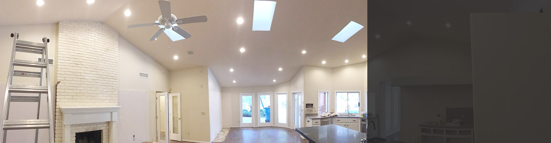 Led recessed lighting in peoria az led can lights we specialize in recessed lighting installs aloadofball Images